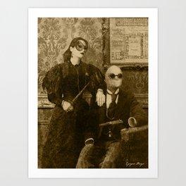 Dark Victorian Portrait: The Specialists Art Print