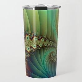 Another Secret Place Abstract Fractal Art Fantasy Travel Mug