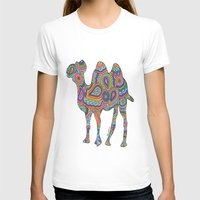 camel T-shirts featuring Camel  by Shanaabird