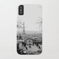 paris iPhone & iPod Cases featuring Paris by Studio Laura Campanella