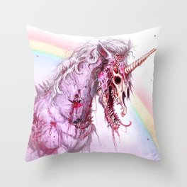 ZOMBICORN Throw Pillow