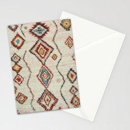 colorful berber carpet Stationery Cards