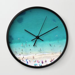 Villefranche Sur Mer Summer Wall Clock