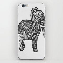 Elephant Entangled iPhone Skin