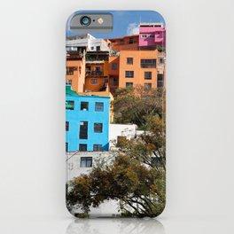 Gunajuato colorful buildings iPhone Case