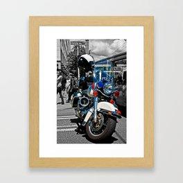 Police Framed Art Print