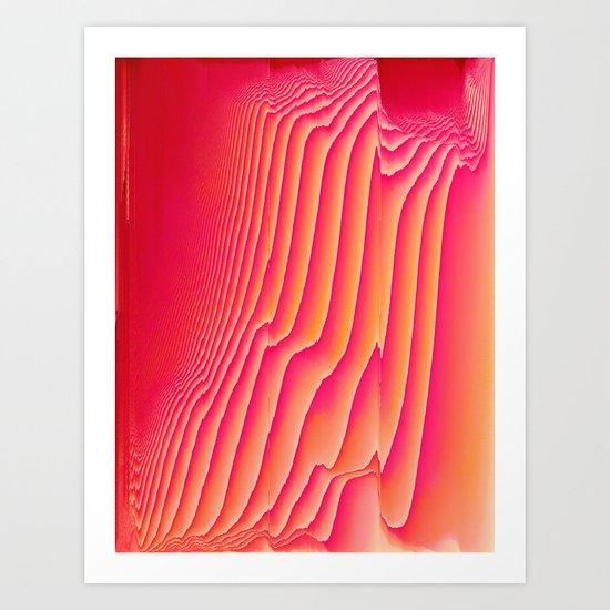 Sorbet Melt Art Print