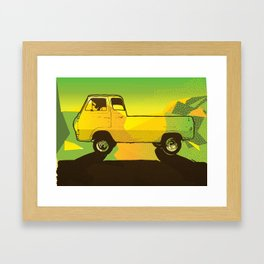 Ventura Ave. Framed Art Print