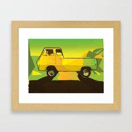 Ventura Ave. Framed Art Print