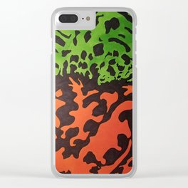 Fire Belly Clear iPhone Case