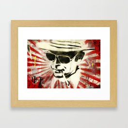 Hunter S Thompson Framed Art Print
