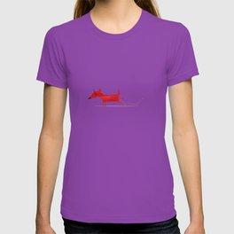 Red Dog3 T-shirt