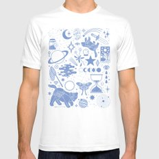 Collecting the Stars Mens Fitted Tee White MEDIUM
