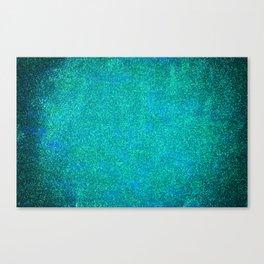 Mermaid Glitter Canvas Print