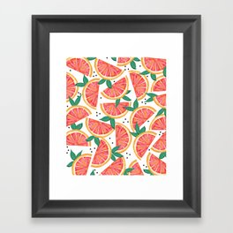Citrus Surprise #society6 #decor #buyart Framed Art Print