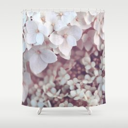 Flower photography by Olesia Misty Shower Curtain