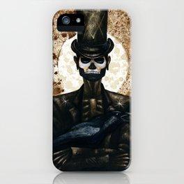 Shadow Man 2 iPhone Case
