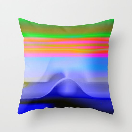 Blind with View 101 Throw Pillow