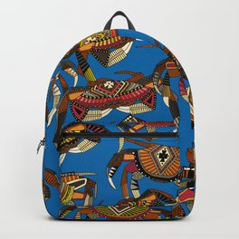 crabs blue Backpack