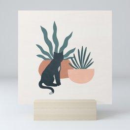flora and fauna Mini Art Print