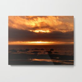 Sensational Sunset Metal Print