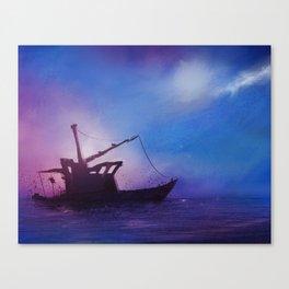Ol' Dirty Boat Canvas Print