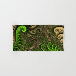 Fantasy World II, Abstract Fractal Art Hand & Bath Towel