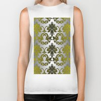 baroque Biker Tanks featuring Baroque Contempo by TEZ Living Style