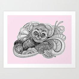 Be'er rose Art Print