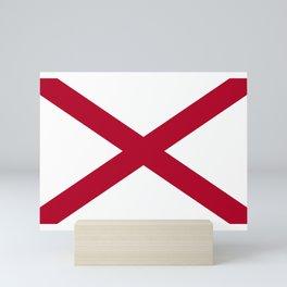 Flag of Alabama Mini Art Print