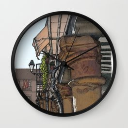 Capital Wall Clock