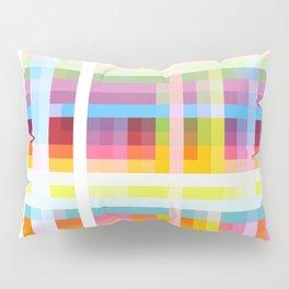 geometric retro grid design Myrmecoleon Pillow Sham