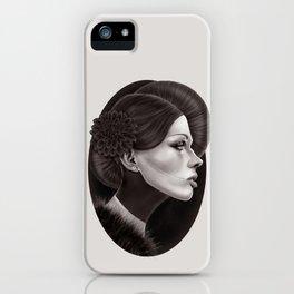 """""""The Black Dahlia"""" iPhone Case"""