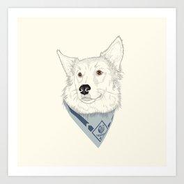 The Good Scout Art Print