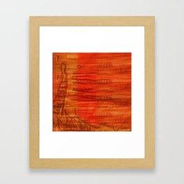 The Grand Fishing Tour 2K15 22b Framed Art Print