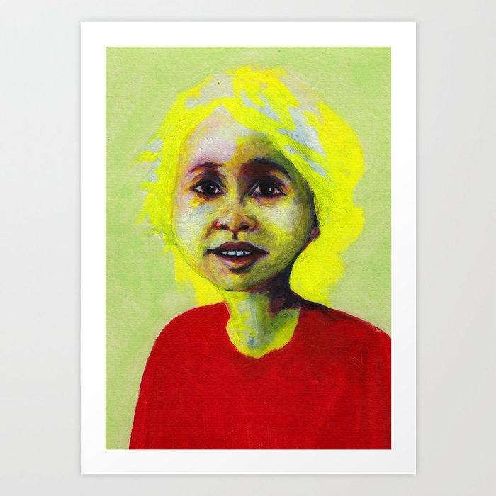 Les petites filles I.10 Art Print