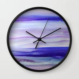 Purple Mountains' Majesty Wall Clock