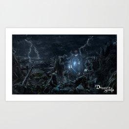 Shrine of Storms Art Print