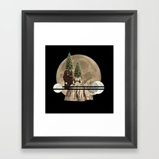 Mr & Mrs Christmas Framed Art Print