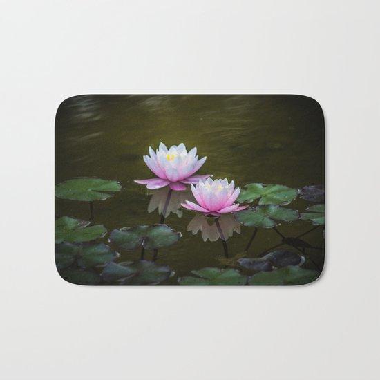 Water Lilies Bath Mat