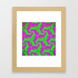 little dragons Framed Art Print