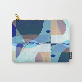 Abstract Fractal Art - Quistere- Cubism- Picasso Art Carry-All Pouch