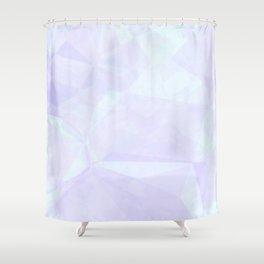 Geometric Spring Shower Curtain