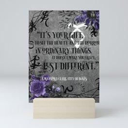 It's your gift Mini Art Print