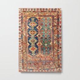 Megri Southwest  Anatolian Rug Print Metal Print
