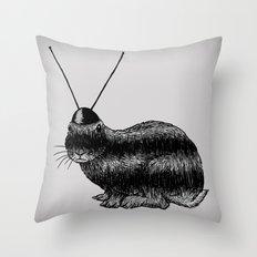 Fuzzy Reception Throw Pillow