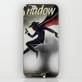 The Shadow Knows iPhone Skin