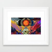 physics Framed Art Prints featuring Quantum Physics  by Cory Ring