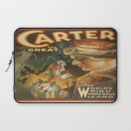 Vintage poster - Carter the Great Laptop Sleeve