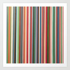 STRIPES 33 Art Print